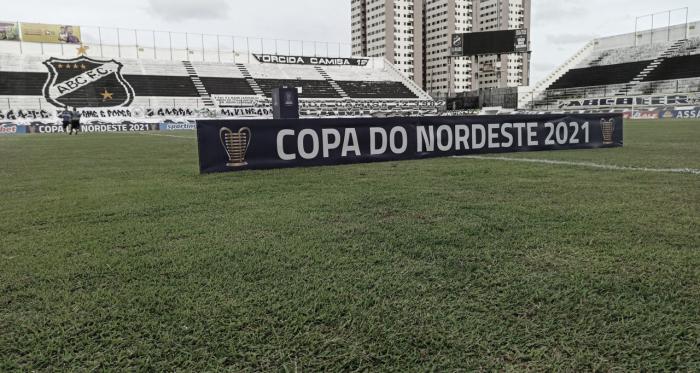 Em jogo morno, ABC e Confiança ficam no empate na Copa do Nordeste