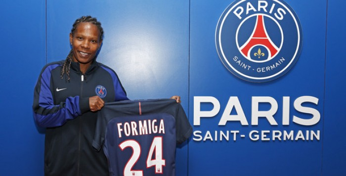 Formiga will wear the Number 24 shirt this season | Source: psg.fr