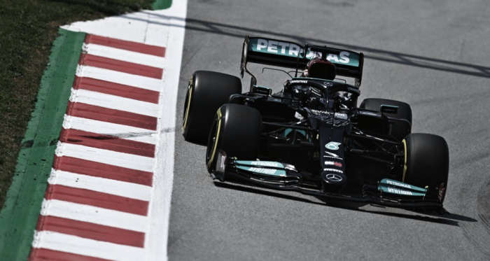 GP España. Libres 2: Mercedes sigue intratable