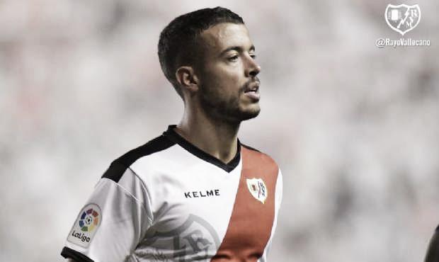 Franco Di Santo en su debut ante el Leganés | Foto: Rayo Vallecano S.A.D.
