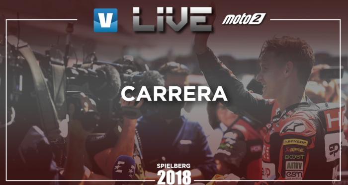 Resumen carrera GP de Austria 2018 de Moto2
