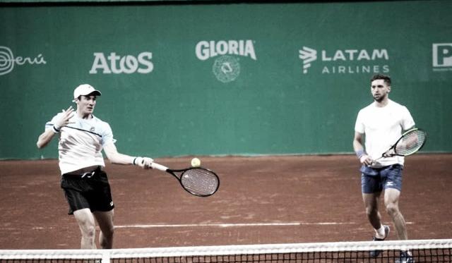 Bagnis y Andreozzi plata en dobles y se enfretan en singles por el bronce