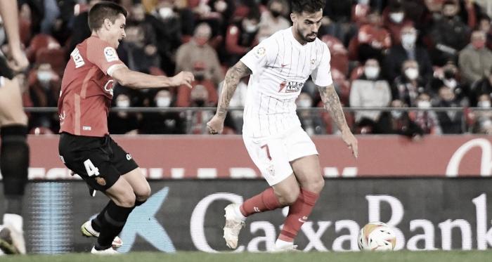 El Sevilla se queda relamiendo la victoria ante el Mallorca