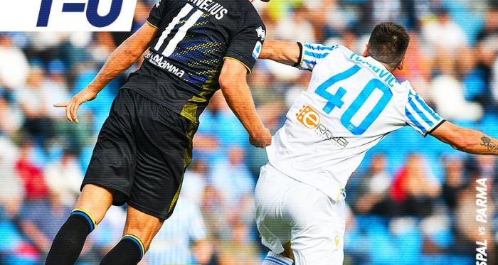 Serie A- Petagna affonda il Parma, la Spal conquista tre punti fondamentali