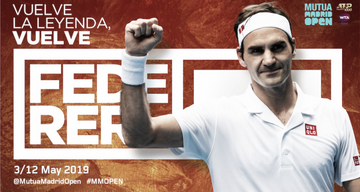 Vuelve la leyenda. Vuelve Federer | Foto: Madrid open
