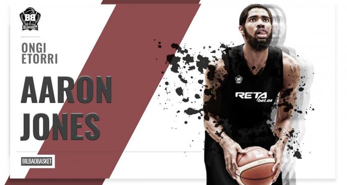 Aaron Jones, a Bilbao Basket para sustituir a Ben Lammers