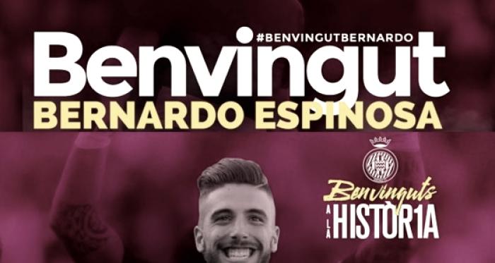 Montajes de presentación de ambos jugadores (Foto: Girona FC)