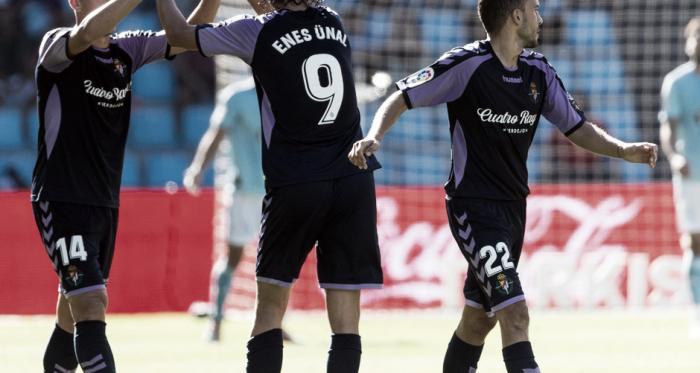 Enes Ünal tras empatar ante el Celta | Real Valladolid