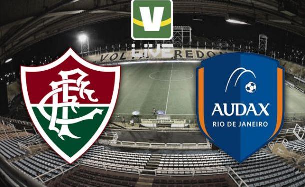 Fluminense x Audax, Campeonato Carioca