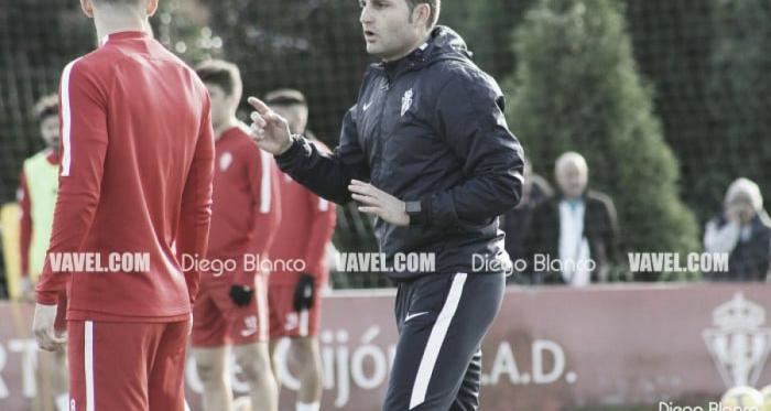 El Sporting se prepara para enfrentarse a Osasuna