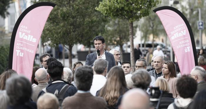 Manuel Valls ex primer ministro francés. Fuente: Cuenta Oficial de Facebook de Manuel Valls (@manuelvalls).