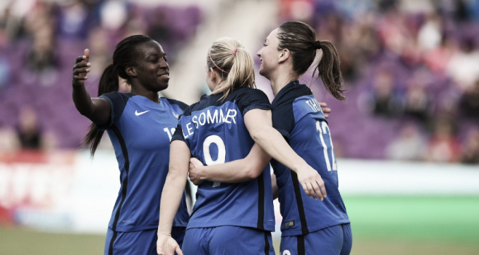 France put on a performance against Germany | Source: ussoccer.com