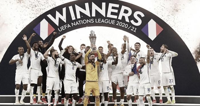 Com polêmicas do VAR, França vira para cima da Espanha e é campeã da Nations League