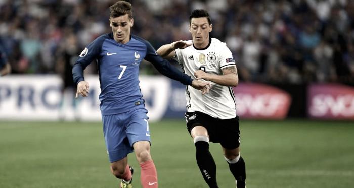 La selección francesa durante un encuentro // Fuente: Selección de Francia