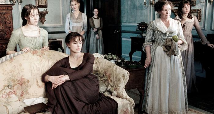 Imagen extraída de frasesdelavida donde se muestra una escena de la película Orgullo y Prejuicio.