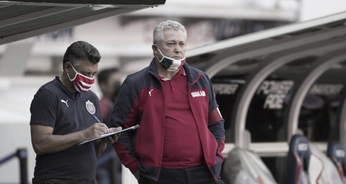 """Víctor Manuel Vucetich: """"Siempre las maletas están ahí, esa decisión es de directiva"""""""