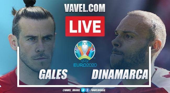 Gols e melhores momentos de País de Gales 0 x 4 Dinamarca pela Eurocopa