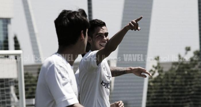 """Garci"" ya es del Sporting B // Imagen: Imanol Ibeas"