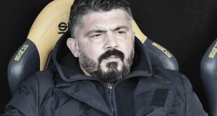 Napoli sofre virada e Gattuso pede reação imediata para conquistar vaga na Champions
