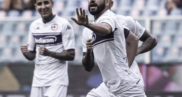 Fiorentina supera Genoa fora de casa e engata três vitórias seguidas na Serie A