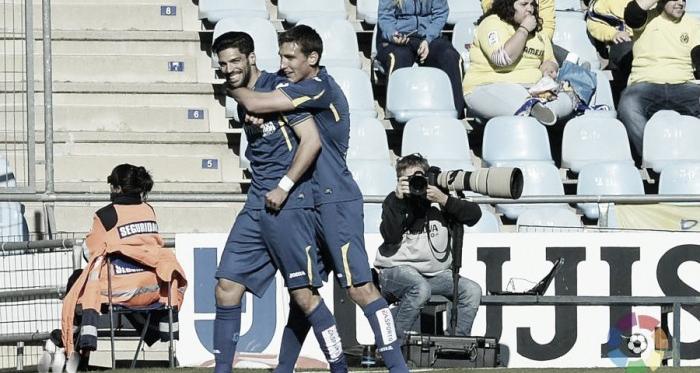 Lafita celebra un gol ante el Villarreal. Foto: laliga.es