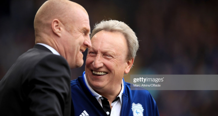 It is unlikely that both of these managers will be smiling in two months time (photo: Getty Images)