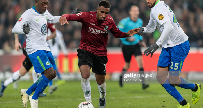 Noah Joel Sarenren Bazee moves on from Hannover 96 (Photo: Getty Images)