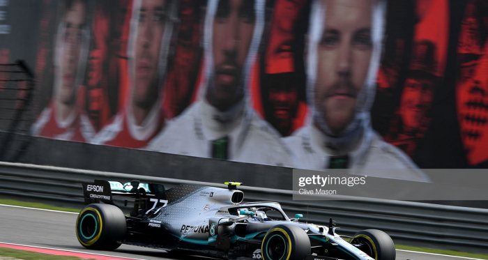 Bottas take pole ahead of Hamilton (Photo Credit: Clive Mason, Getty Images)