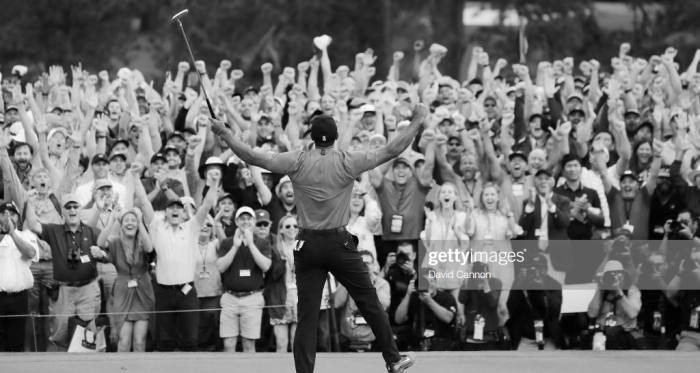 An iconic moment (photo: Getty Images)