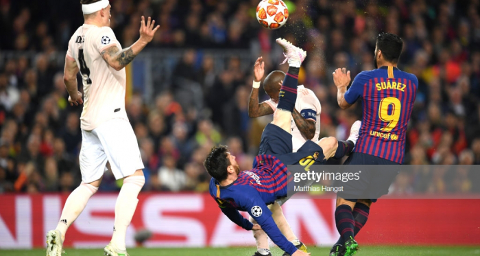 Barcelona nas meias de final