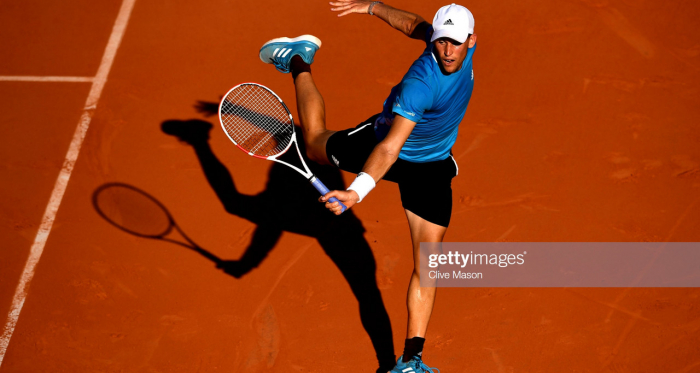 Thiem came through another tight match to reach the second week (Getty Images/Clive Mason)