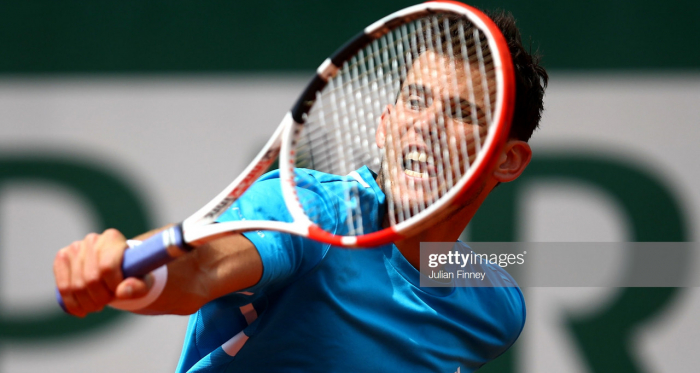 Thiem reached his fourth consecutive quarterfinal at Roland Garros (Getty Images/Julian Finney)