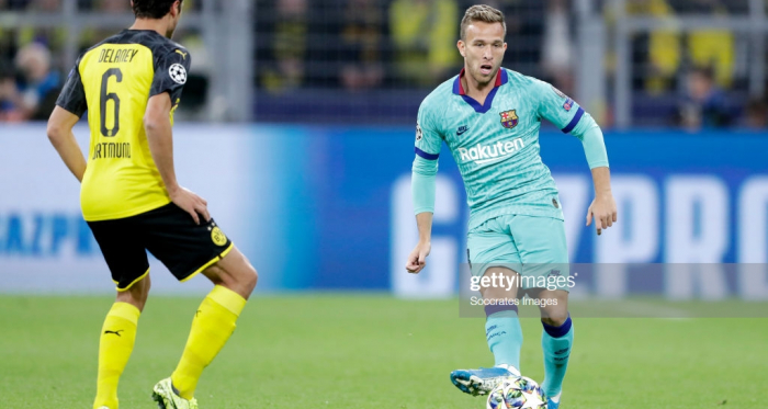 Borussia Dortmund 0-0 Barcelona: Messi returns as sides fail to top group