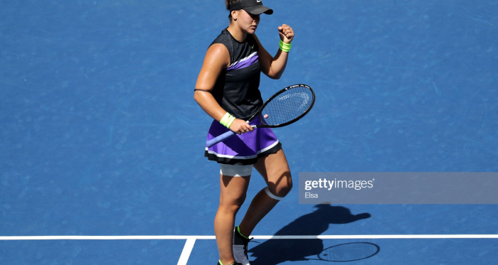 Bianca Andreescu will be happy with how she battled today | Photo:Elsa/Getty Images