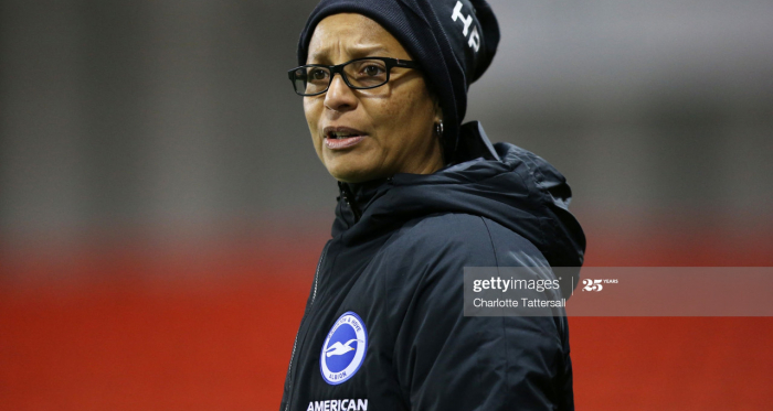 """""""It's a real team effort"""" - Hope Powell's thoughts after Brighton hold Manchester City to a 0-0 draw at the Academy Stadium"""