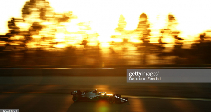 F1: Hamilton tops times as Verstappen spins on Day 1 of testing