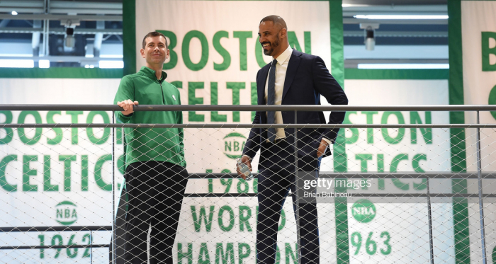 Which players should the Boston Celtics target using their trade exception this offseason?