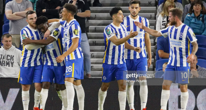 Brighton & Hove Albion 2-0 Swansea City: Connolly at the double as Seagulls roll into last 16