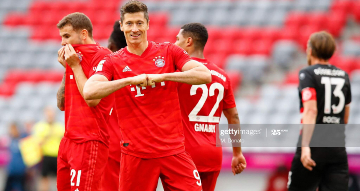 Bayern Munich 5-0 Fortuna Dusseldorf: Bayern purr into 10-point Bundesliga lead