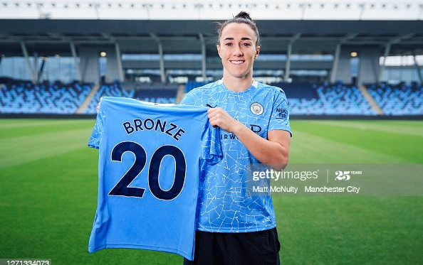 """""""If I was coming back to England it was only ever going to be City"""" Lucy Bronze looking for Champions League success with Manchester City"""