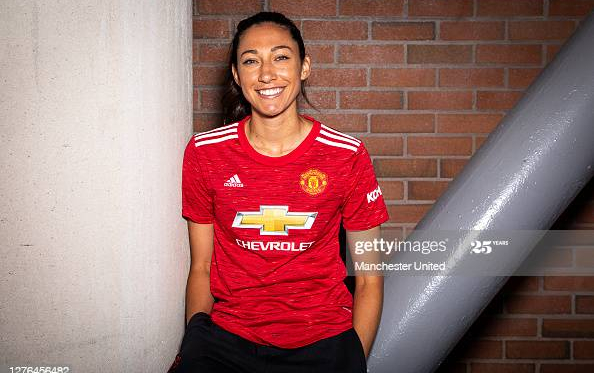 """That's what I'm here to do. I'm here to compete for titles"" - Christen Press on joining Manchester United"