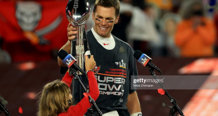 "Tom Brady Guides Tampa Bay Buccaneers to Super Bowl Glory to Round Off ""Amazing Year"""