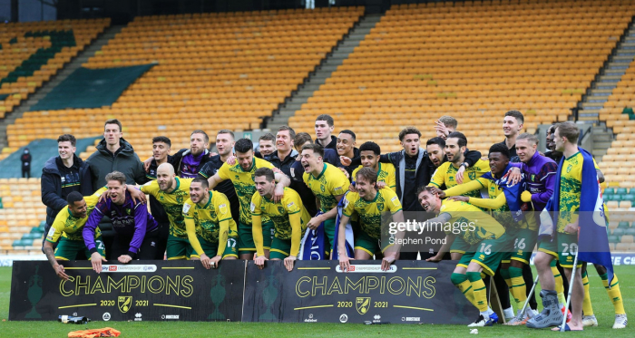 Norwich City 4-1 Reading: Canaries seal title win by blowing Royals away