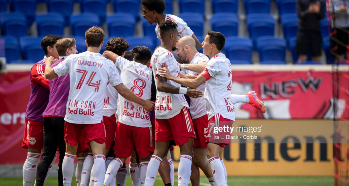 New York Red Bulls 2-0 Chicago Fire: Casseres Jr., Clark fire hosts to first victory under Struber