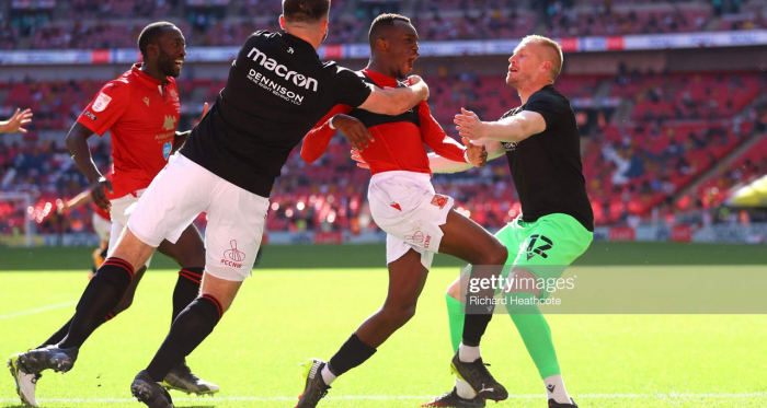 As it happened:Morecambe 1-0 Newport County in the League Two Play-Off Final