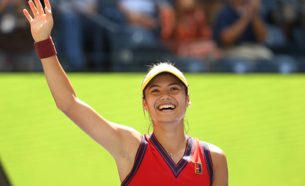 US Open: Emma Raducanu continues storybook tournament with victory over Belinda Bencic