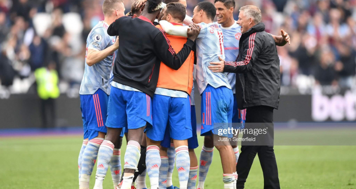 Solskjaer's Manchester United continue to play the moments