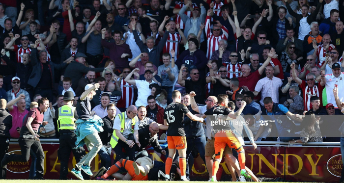 Three years on: Sheffield United secure promotion back to the Championship