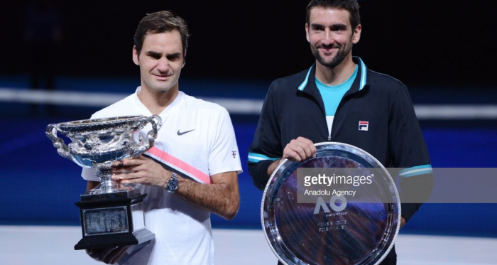 Federer and Cilic were the two finalists at last year's Australian Open (Anadolu Agency/Getty Images)