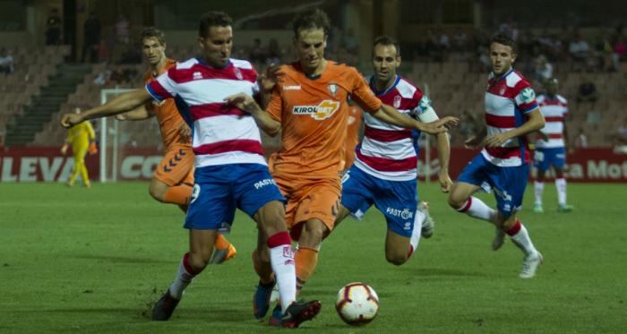 Imagen del partido de la temporada pasada en Los Cármenes. Foto: Antonio L Juárez